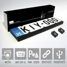 KIYO D Ultimate 2: rendszámtábla keretes aktív lézeres jelzőkészülék 2 szenzorral