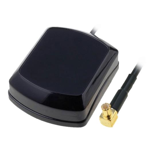 Külső GPS antenna 5m vezetékkel,90°-os MCX csatlakozóval