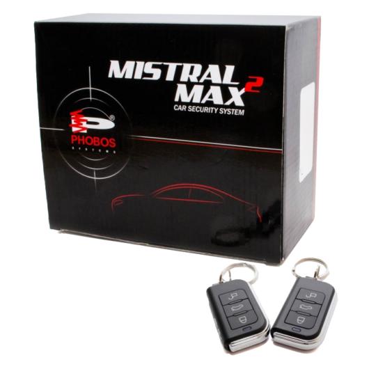 Mistral MAX2 R autóriasztó