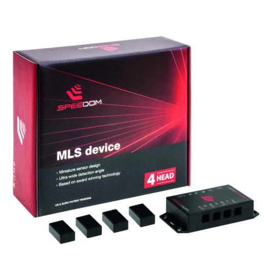 MLS Speedom 4: Aktív lézeres traffipaxvédelmi termék