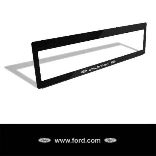 Rendszámtábla matrica (Ford)