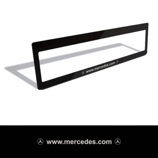 Rendszámtábla matrica (Mercedes)