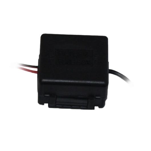 ABM 24V/12V adapter 24V/12V feszültség-átalakító adapter tolatókamerákhoz
