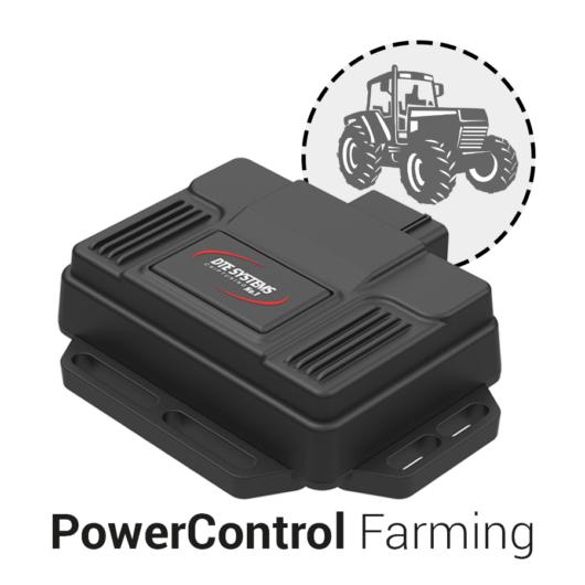 DTE PowerControl Farming mezőgazdasági gépek számára
