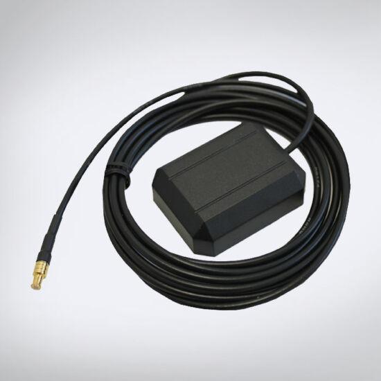 Külső GPS antenna 2,5 m vezetékkel,MCX csatlakozóval