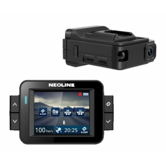 Neoline X-COP 9100 menetrögzítő kamera és radardetektor (GPS + RD)