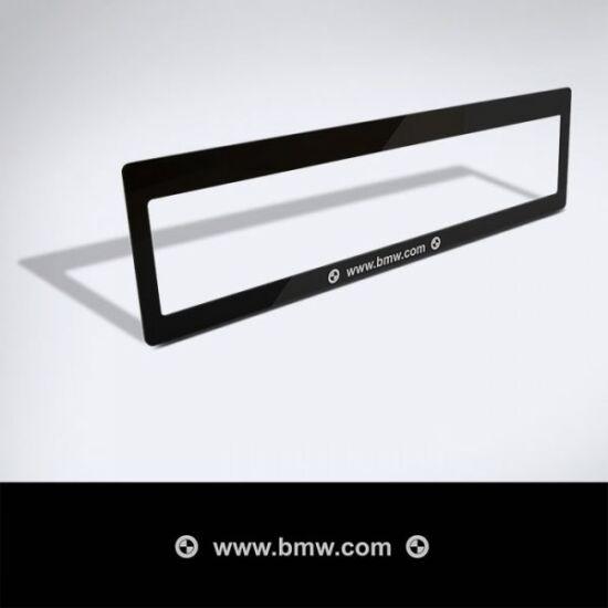 Rendszámtábla matrica (BMW)