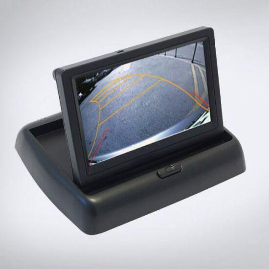 ABM 4,3″ monitor felnyílós 12V