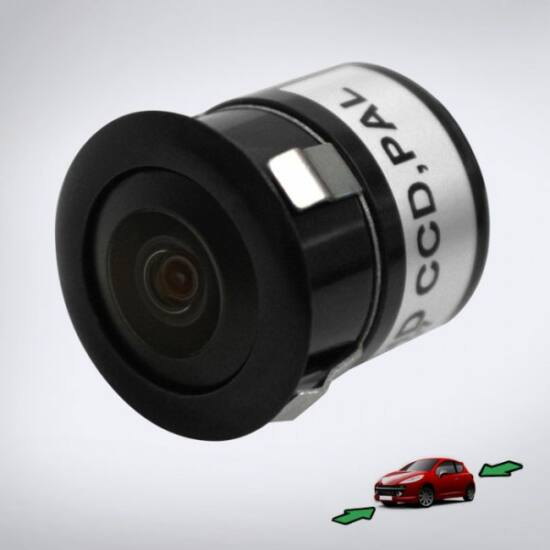 ABM tolatókamera befúrható, első/hátsó szereléshez (HDCCD 480TVL)