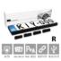 Kép 2/10 - KIYO D Ultimate AP 4R: rendszámkeretbe építhető 4 db szenzort tartalmazó aktív lézeres jelzőkészülék, dupla kerettel + Ajándék KIYO VTX950